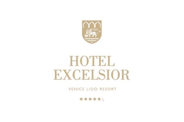 Logo dell'Hotel Excelsior di Venezia Lido.