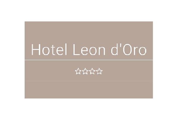 Logo dell'Hotel Leon d'Oro di Verona.