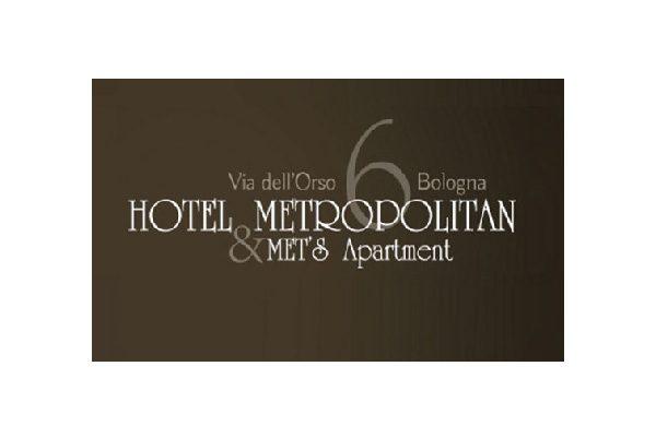 Logo dell'Hotel Metropolitan di Bologna.
