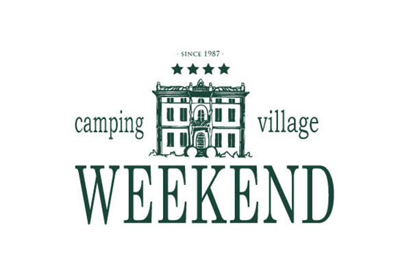 Logo del Camping Villaggio Weekend.