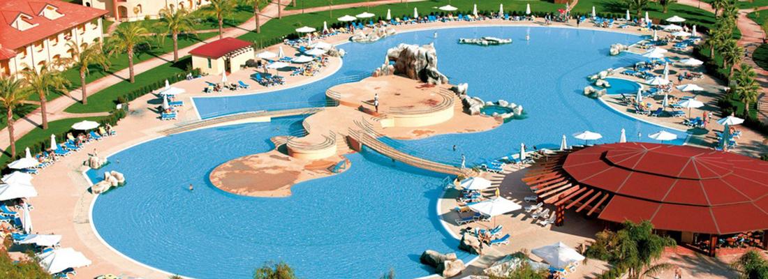 Veduta aerea del villaggio turistico Garden Resort Calabria.