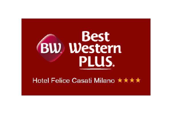 Logo dell'Hotel Best Western Plus Felice Casati di Milano.
