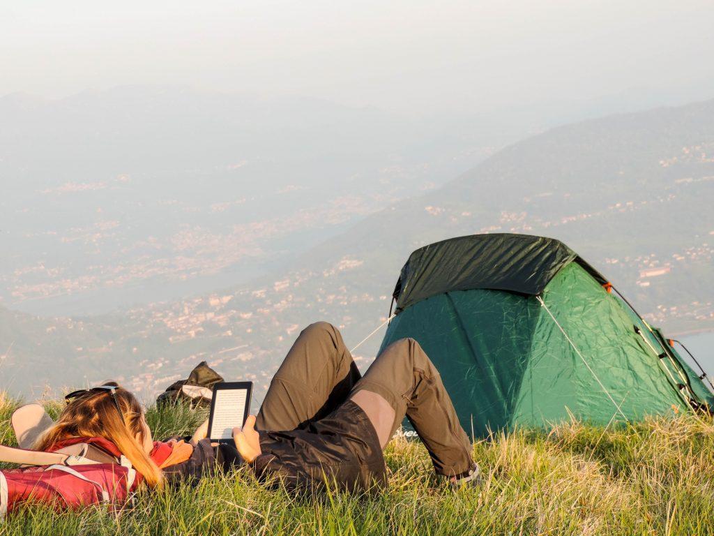 tecnologia in campeggio