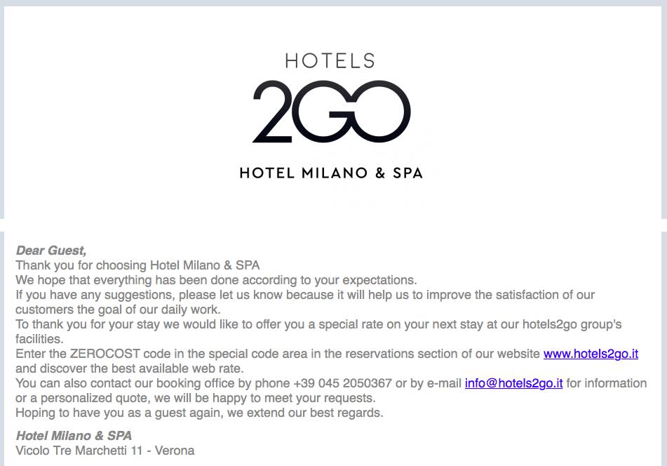 fidelizzare gli ospiti in hotel
