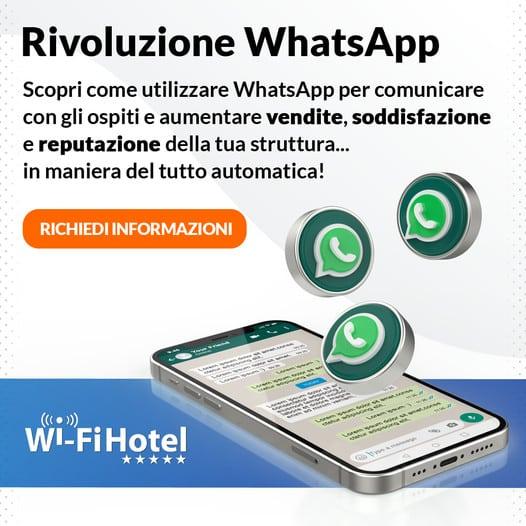 WhatsApp Wi-Fi Hotel